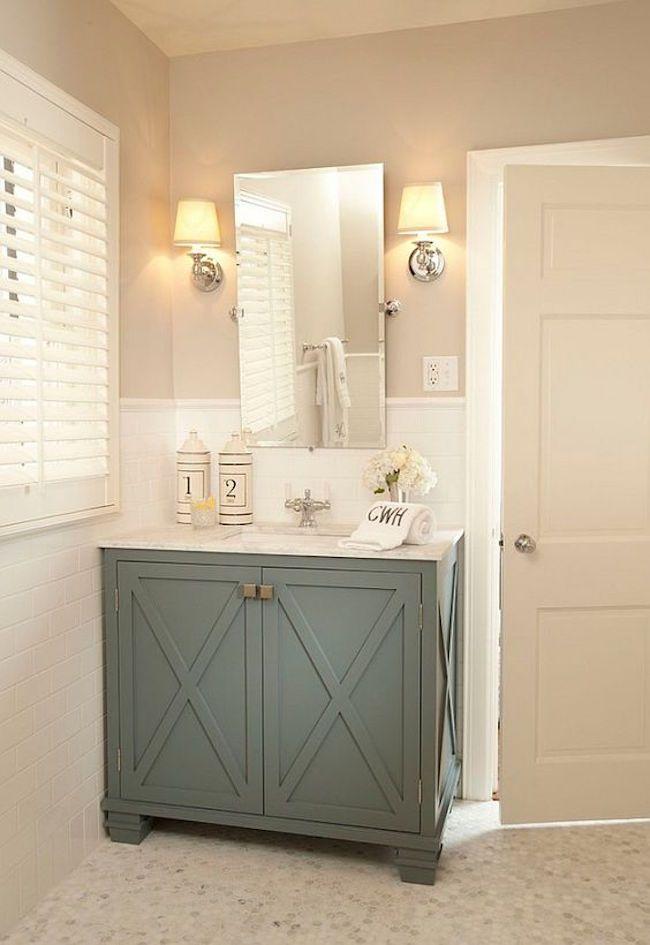 37 Beautiful Neutral Bathroom Designs Interior God Bathrooms Remodel Bathroom Design Painting Bathroom Cabinets
