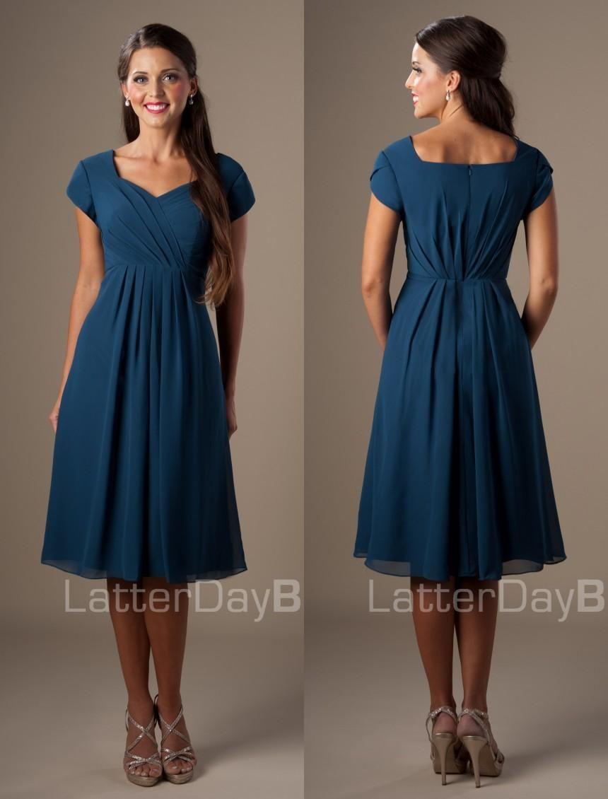 Slate Blue Bridesmaid Dresses for Sale_Bridesmaid Dresses ...