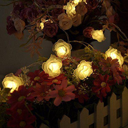 Generic Romantischen 30 Led Lichterkette Deko Innen Batterie Haus