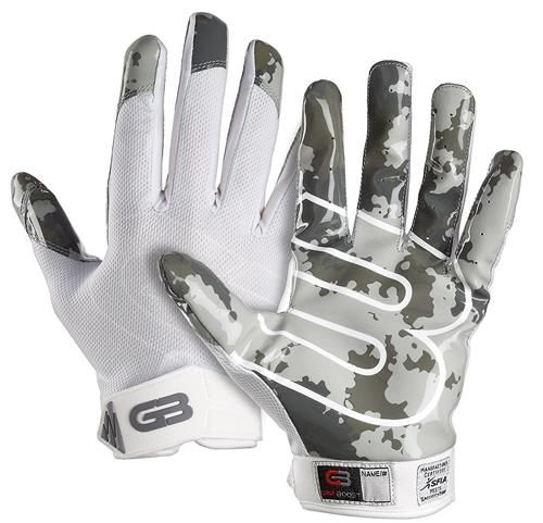 Grip Boost Stealth Football Gloves and Grip Bottle