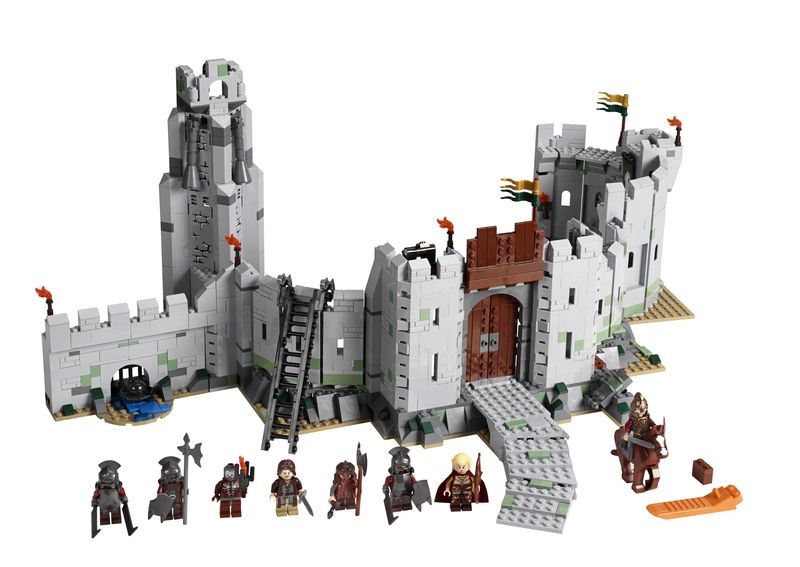 Lego Lord Of The Rings Sets 9474 The Battle Of Helm S Deep With