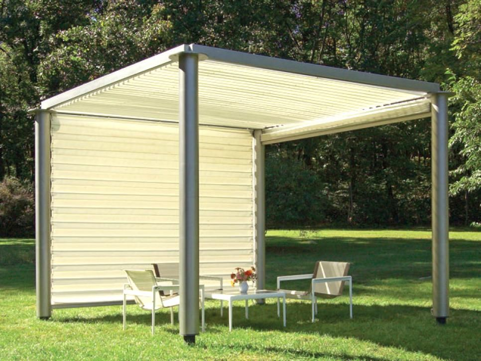 DIYNetwork Shows You The Latest Materials And Designs Being Used To Build Outdoor Shade