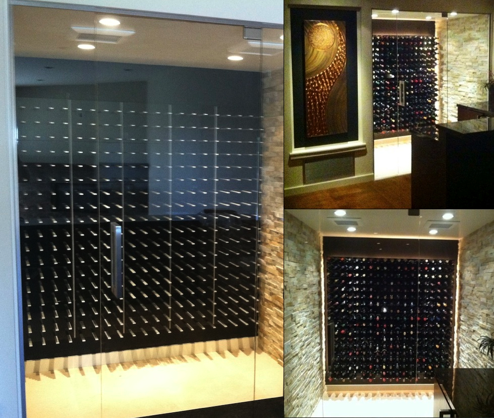 Glass enclosed wine cellar - Stact Modular Wine Wall 1000 Images About Stact Modern Cellars On Pinterest Wine Racks Wine Wall