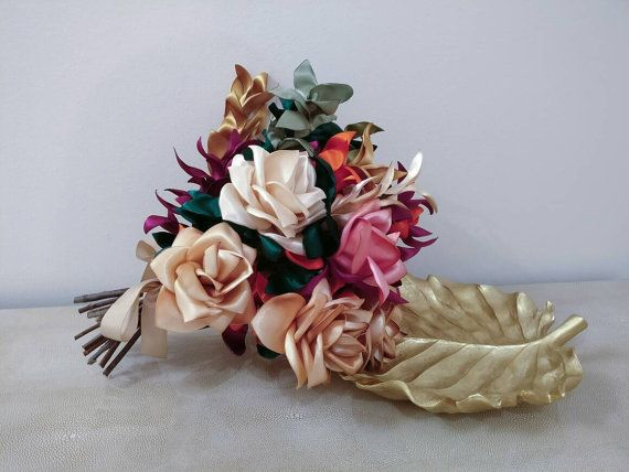 Check out this item in my Etsy shop https://www.etsy.com/listing/479376886/colorful-wedding-bouquet-bridal-bouquet
