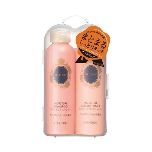 Shiseido Macherie Shampoo Conditioner Set Moisture Shampoo 50ml Conditioner 50ml Japan Import Click Moisturizing Shampoo Shampoo Conditioner Set Shampoo