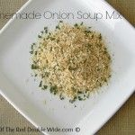 Homemade Onion Soup Mix Packets