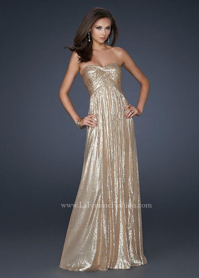17085 Gold Evening Gown | dress. | Pinterest | Shops, Gold evening ...