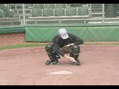 Catching Instructor Brandon Smith On Proper Receiving Stance Baseball Catcher Baseball Training Softball Workouts