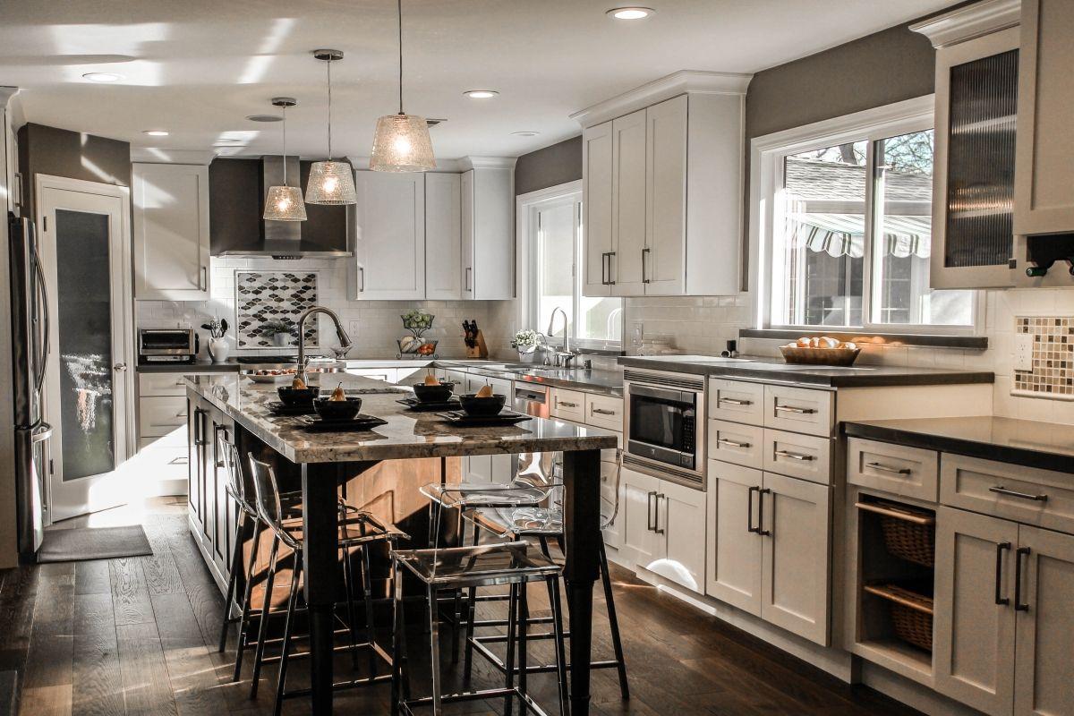 kitchen stories planning for an open floor plan  open