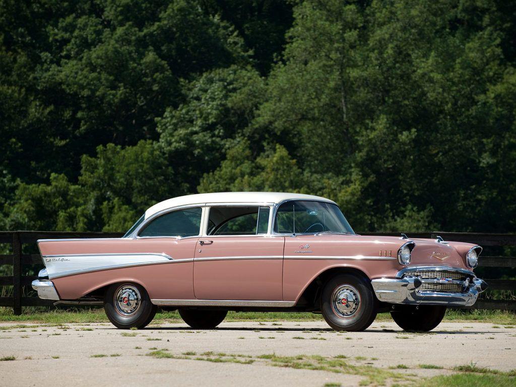 All Chevy 1957 chevy belair 4 door : Chevrolet Bel Air 2 Door Sedan - For more historic American ...