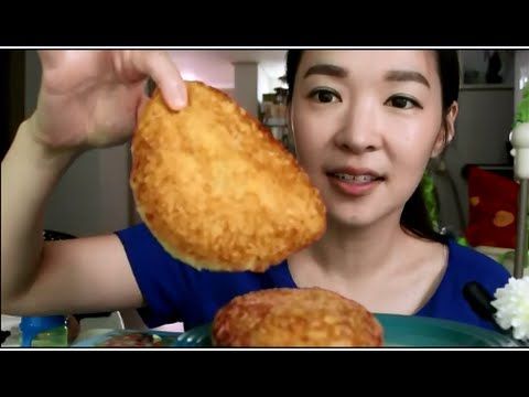 Japanese Korokke Mukbang /고로께 먹방