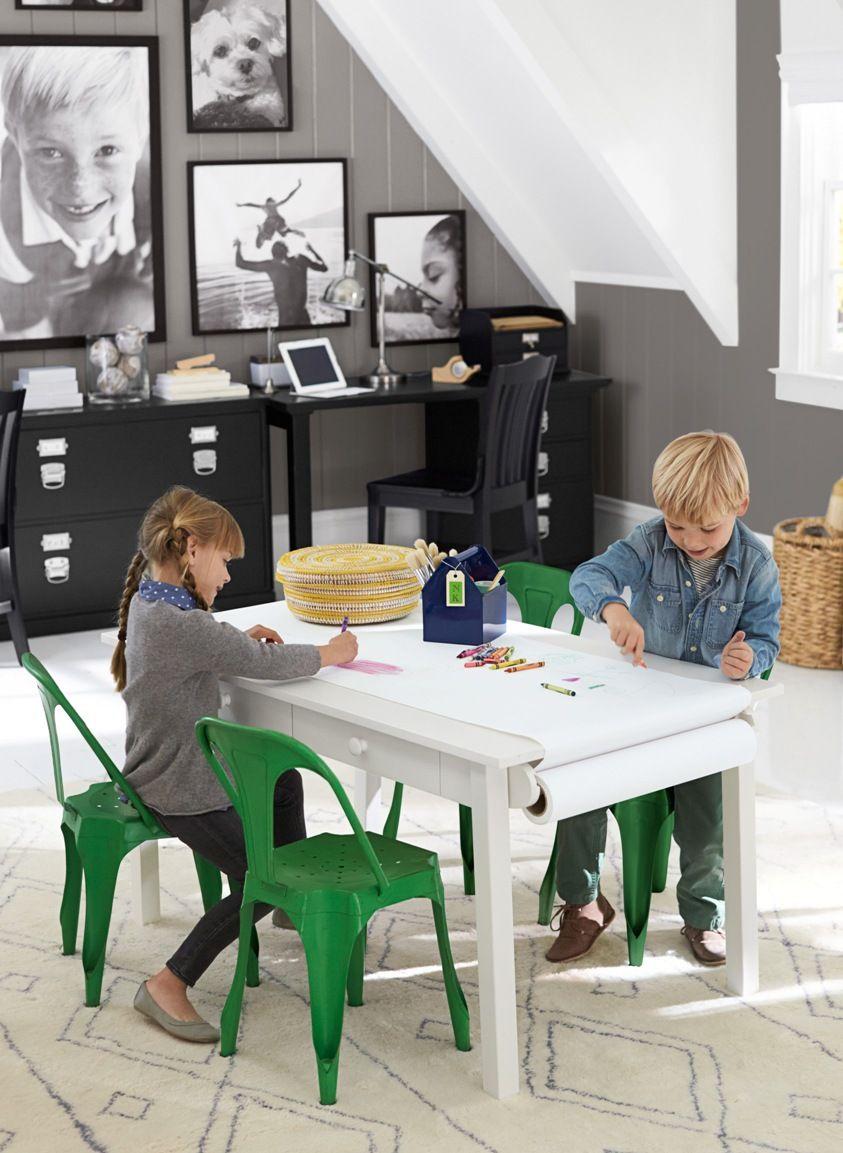 Vægfarve, billeder, sort skrivebord