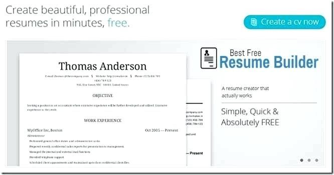 Creating A Free Resume Best Builder Online Create India CLICK