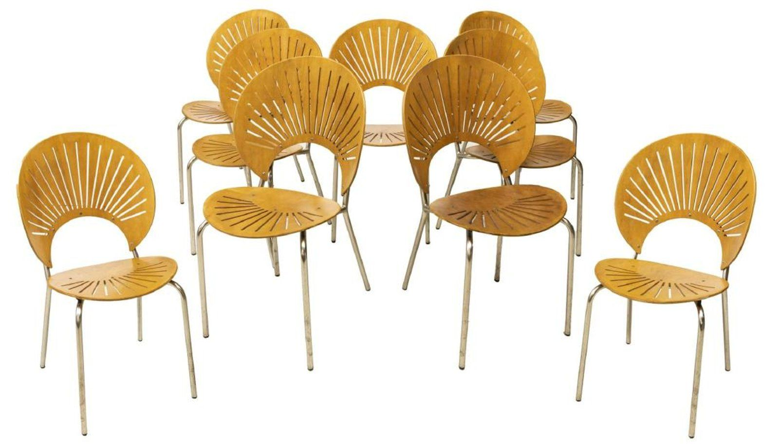 9 trinidad modern chairs nanna ditzel design dining chairs at an upcoming auction you dont need this many but we could split them and i can sell