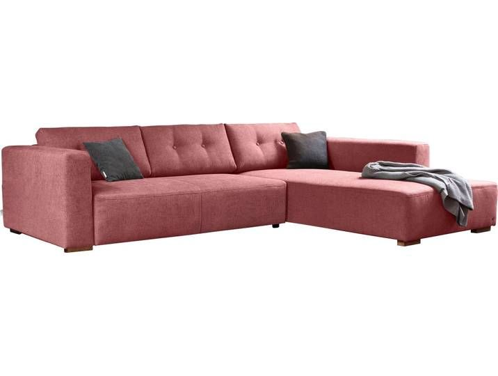 Tom Tailor Eck Sofa Heaven Chic Xl Rot Komfortabler Federkern In 2020 Couch Home Decor Furniture