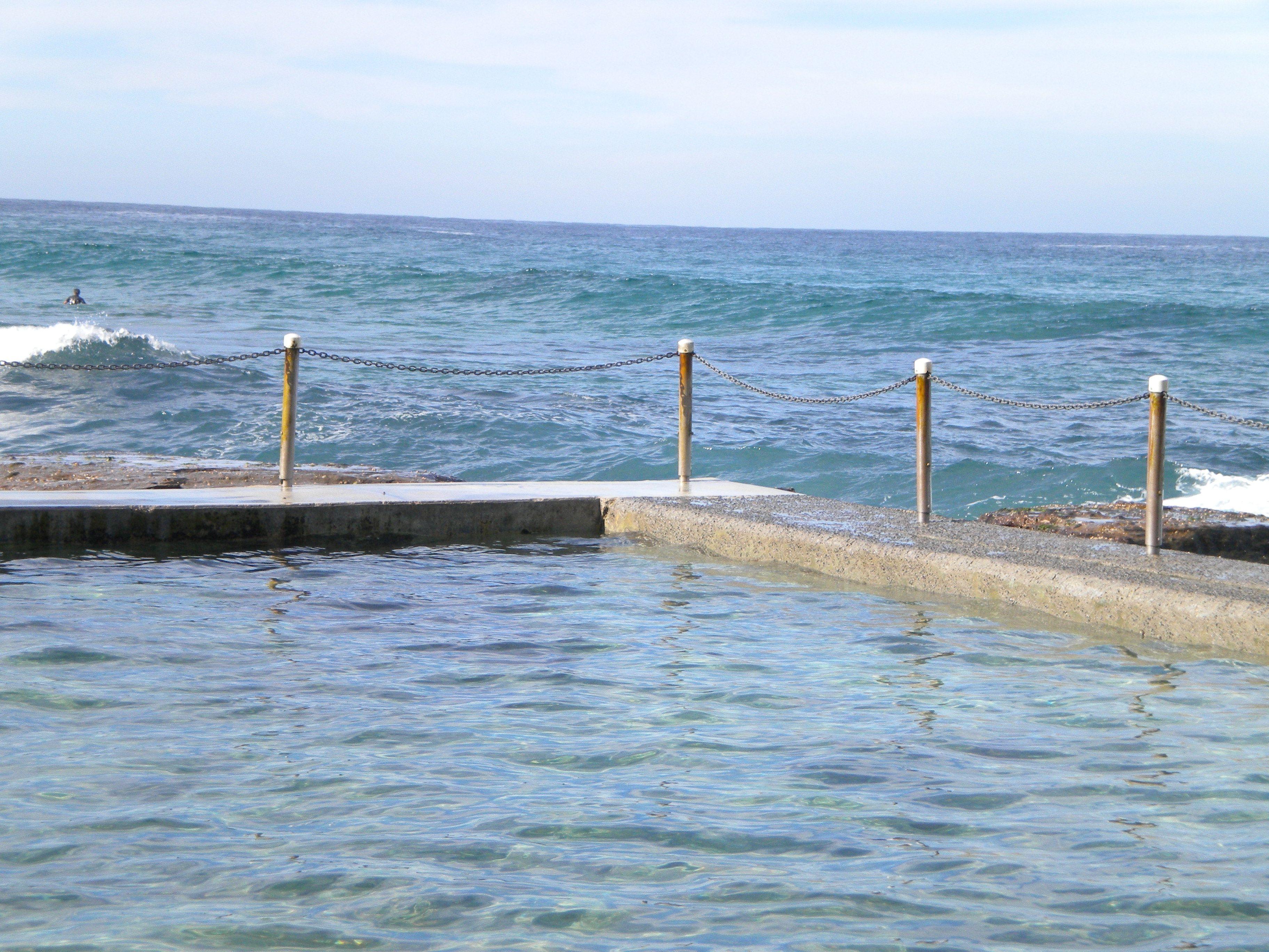 Tidal salt water public swimming pool beach life - Public salt water swimming pools melbourne ...
