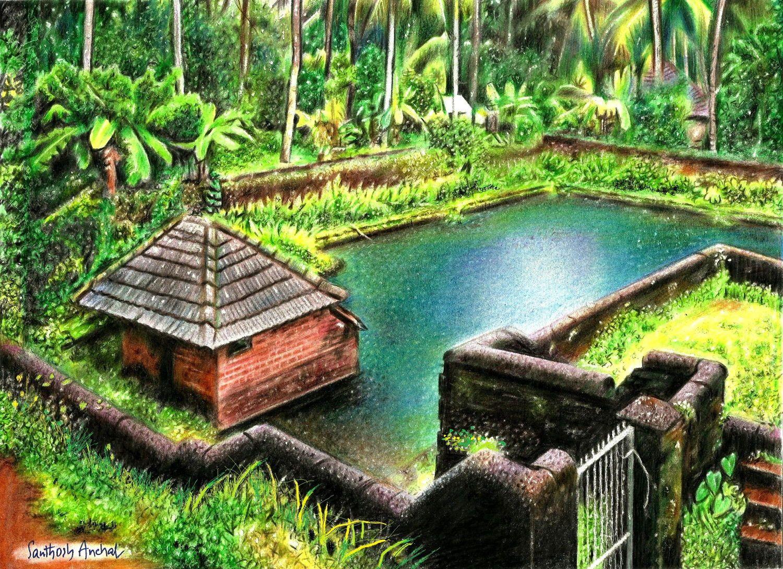 Natural Beauty Of Kerala Nature Art Bedroom Art