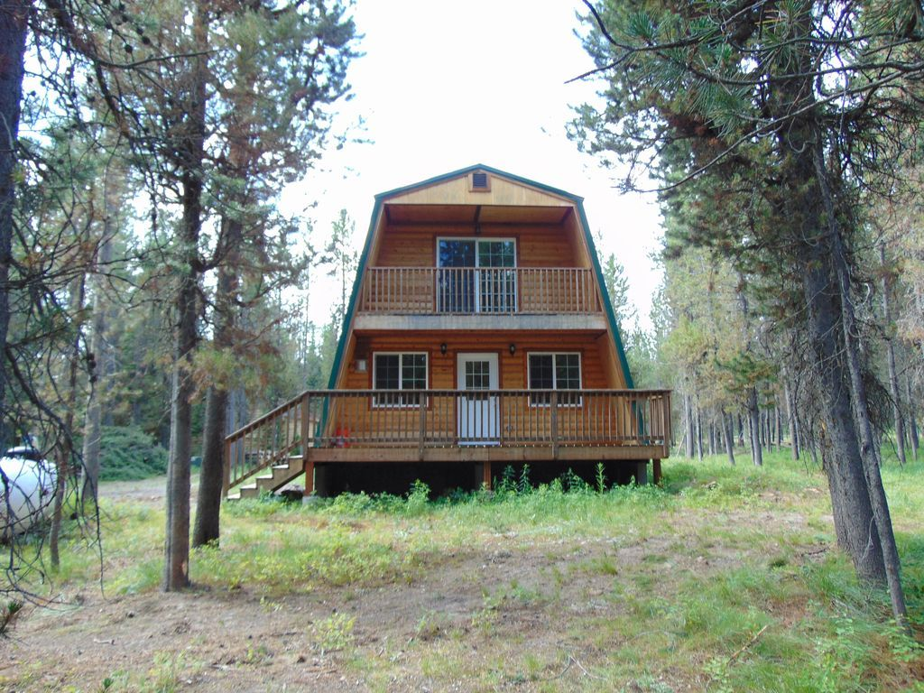 Property Image#2 Cute Modified A Frame cabin surrounded by National ...