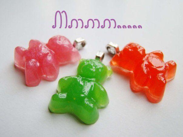 gummy bear pendants