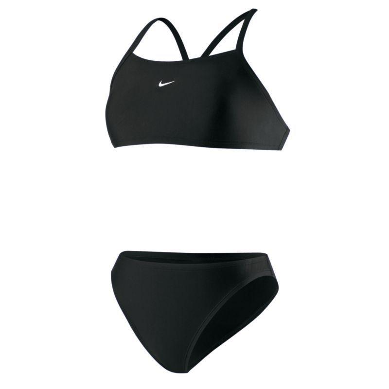 d4b5e431b2 Nylon Core Solid Women s Two-Piece Swimsuit