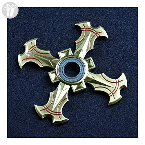 Dragon Fidget Spinner GOLD Four Sides Hand Desk Toy Unique - ADHD Autism ADD Anxiety Reliever - Fidget spinner (*Amazon Partner-Link)