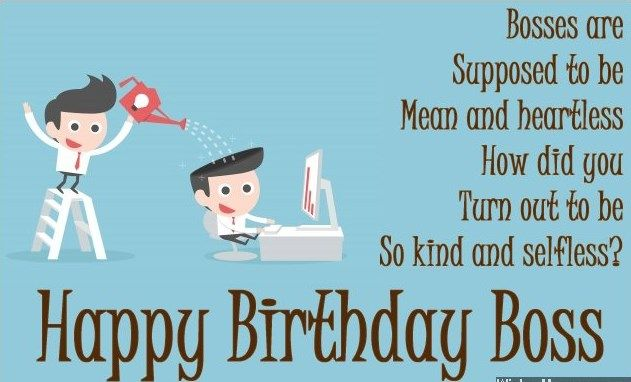 Funny Boss Birthday Quotes