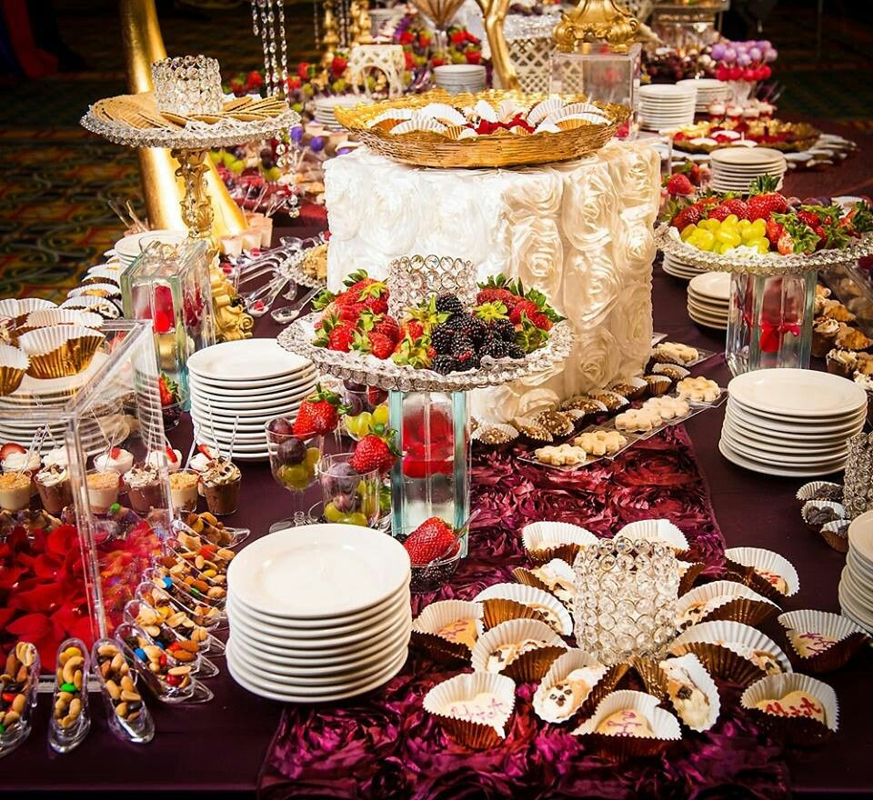 Wedding Food Tables: Wedding Reception Food, Dessert Table