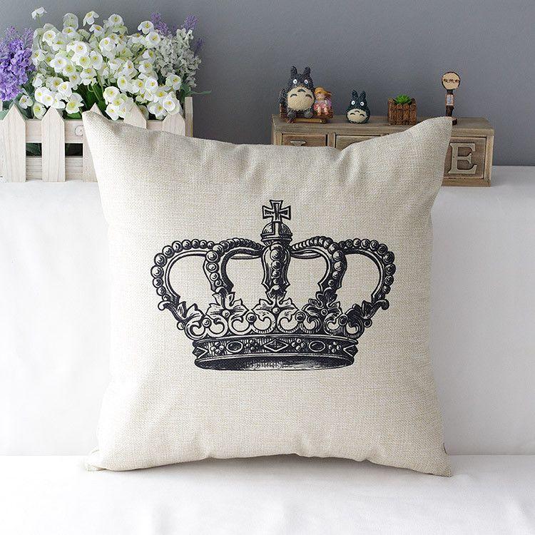 Comprar corona decorativa almohada funda for Proveedores decoracion hogar