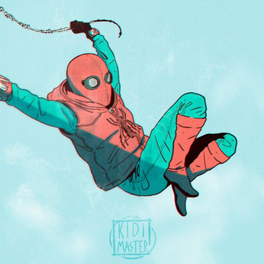 art #Spiderman➢▩homecoming