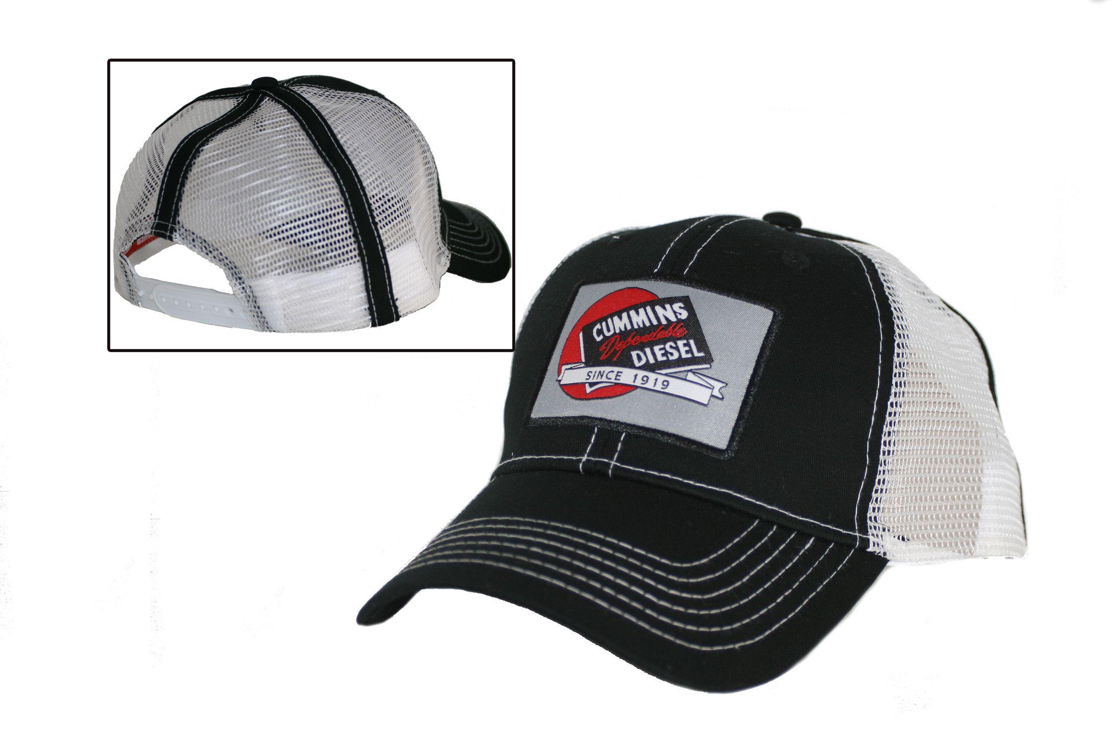 ada407a83c959 Cummins Diesel Contrast Stitch Black Cap