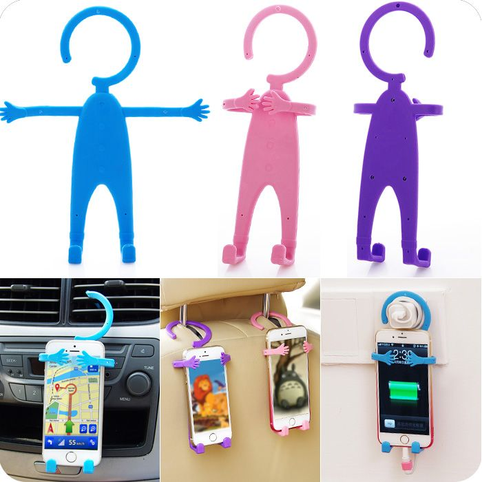 107687f52 Silicone Phone Stand Holder.Hang it in your car