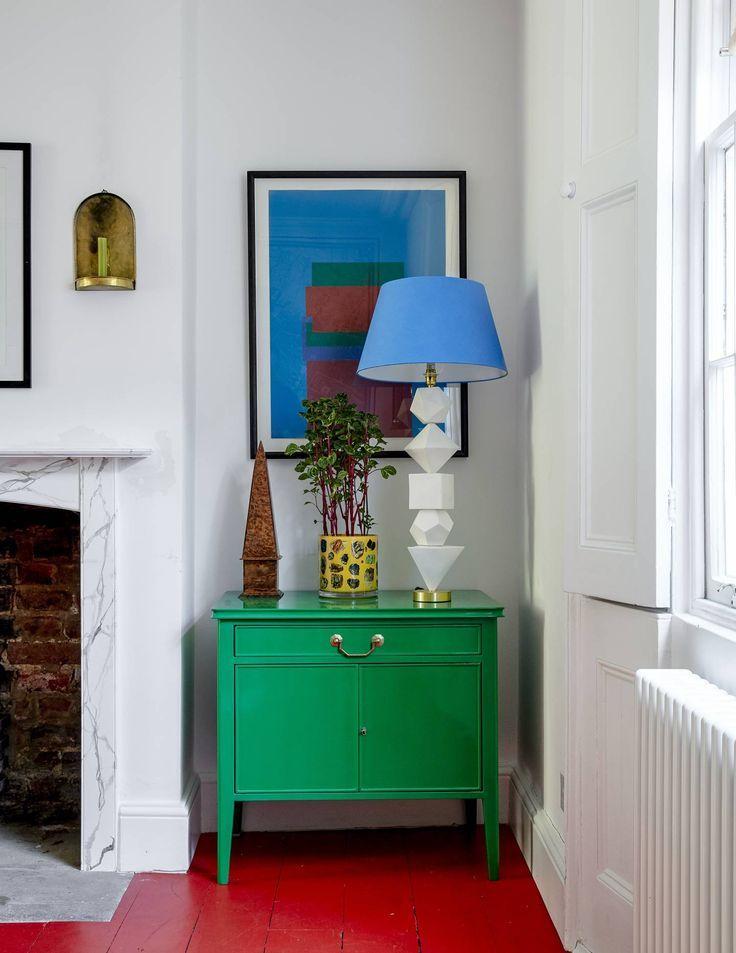Artist and maker Bridie Halls north London house
