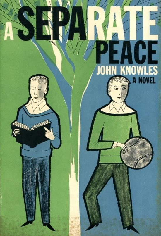 a review of john knowles novel a separate peace The title a separate peace is taken from hemingway's a farewell to arms: i was glad to be alone i had the paper  about the war i was going to forget the war i had made a separate peace (hemingway, a farewell to arms) knowles' title has many symbolic inferences.