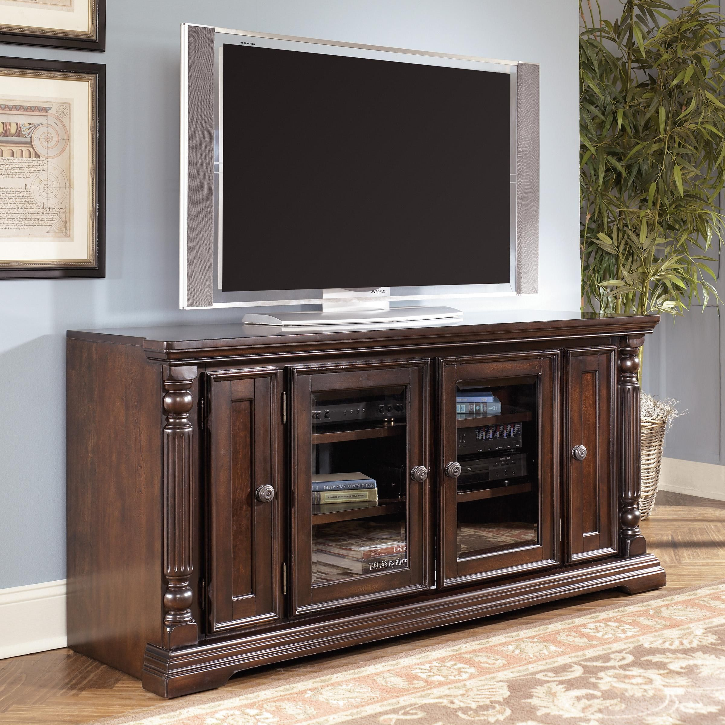 Tall tv stand new home decor dark wood tv stand solid wood tv stand entertainment center for Tall tv stands for living room