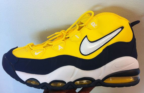 low priced c8d5f 710ad Nike Air Max Tempo  Tour Yellow White-Midnight Navy Nice Fab 5 Colors