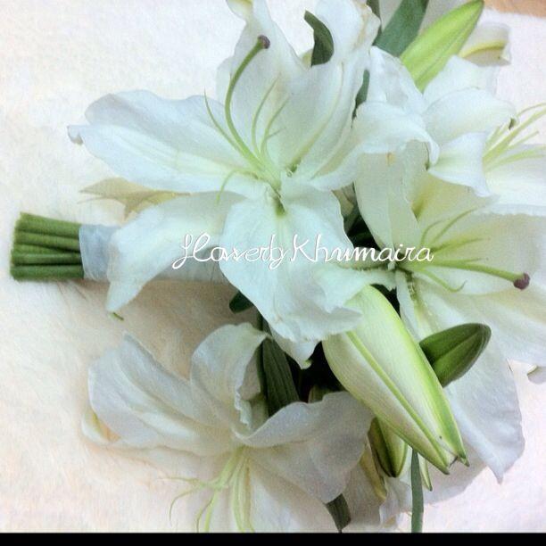 Hand bouquet FRESH FLOWER LILY WHATSAPP 0193078622 | HAND BOUQUET ...