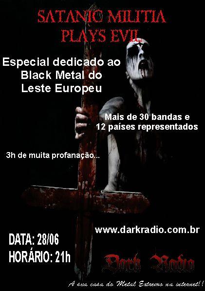 arte criada para Dark Radio Brasil