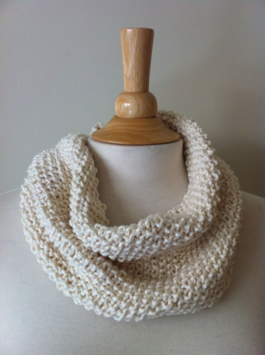 Seed stitch cowl. Other examples on blog   Knitting/Crochet ...