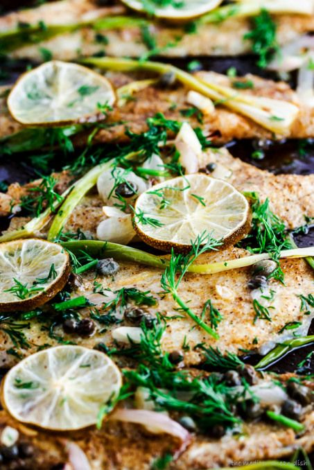 baked sole fillet recipe