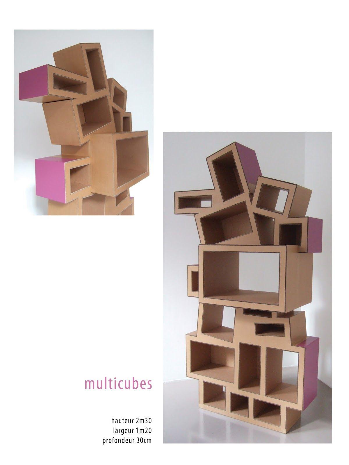tag re en carton cardboard furniture diy pinterest. Black Bedroom Furniture Sets. Home Design Ideas