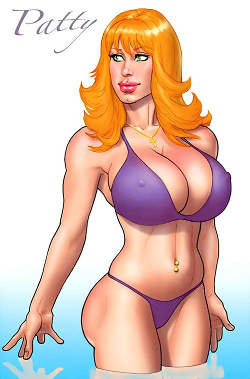 Bikini issue swimsuit