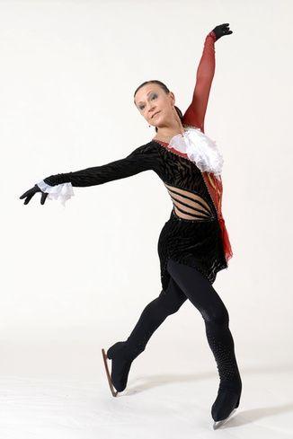 Irina Kirjanen, 52, of Järvenpää Figure Skating Club, Finland - landed double axel in ISU Adult 2013 competition.