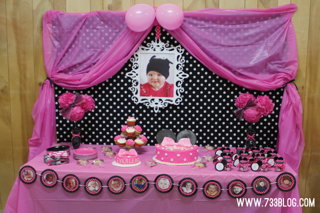 Minnie Mouse 1st Birthday Party Inspiration Made Simple Recipe Minnie Mouse 1st Birthday Minnie Mouse Party Supplies 1st Birthday Parties