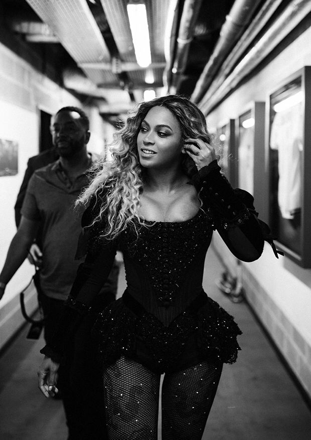 Photo of Beyoncè – The Formation World Tour at King Baudouin Stadium. Brussels, Belgium …