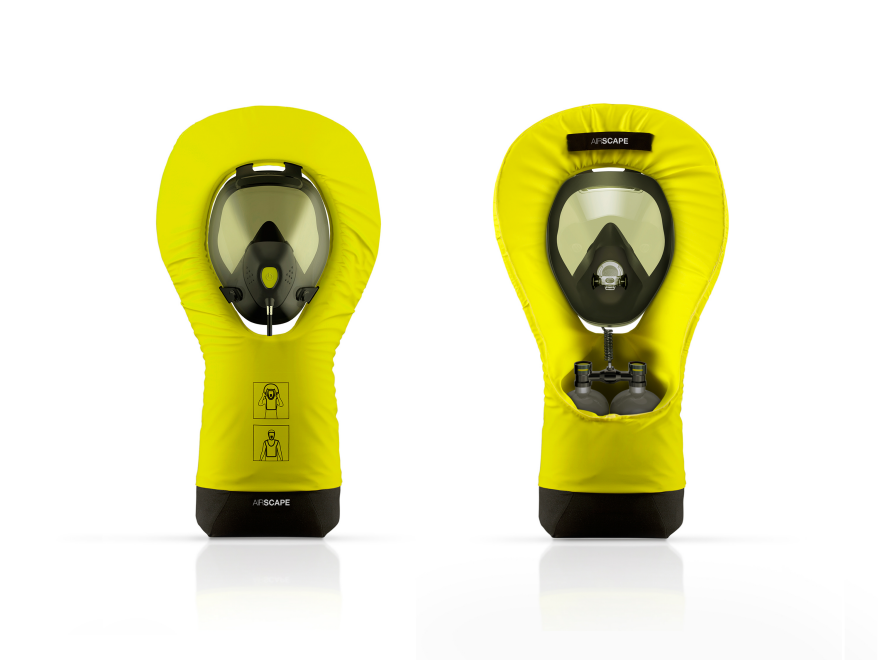 Airscape, emergency breathing apparatus by Thibault
