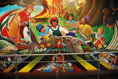denver airport murals | Denver International Colorado Airport Murals | Flickr - Photo Sharing!
