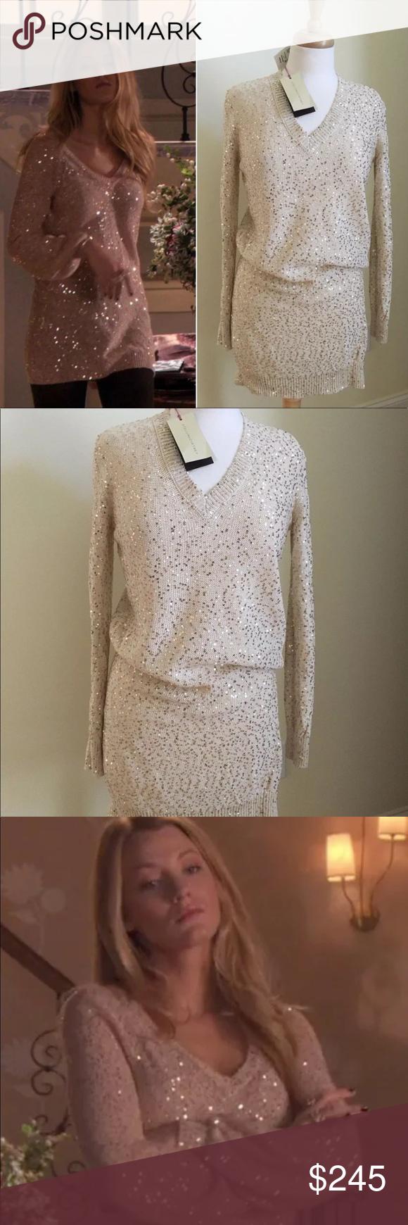 52f9f81032 Stella McCartney gold sequin dress 2 4 Gossip Girl Hey upper east siders!  For sale