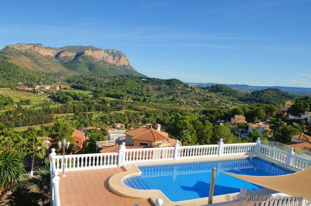 Villa Jasmin in Denia, La Sella golf course, large private