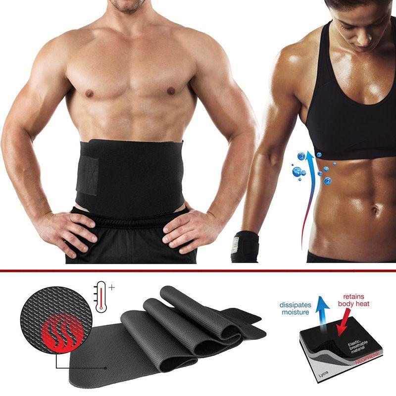 c2e184596f 1Pcs Weight Loss Creams Women Men Waist Trimmer Belt Weight Loss Sweat Band  Wrap Fat Burner Tummy Stomach Sauna