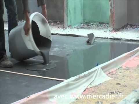 Béton Ciré Coulé - Le reportage Coté Maison fr - YouTube 2 Vie - maison en beton coule